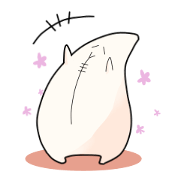สติ๊กเกอร์ไลน์ Mofufu of Ume-chan