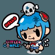 สติ๊กเกอร์ไลน์ LITTLE COMPLEX(English edition)
