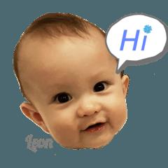 สติ๊กเกอร์ไลน์ BabyLeonB(2)