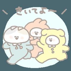สติ๊กเกอร์ไลน์ kigurumichans 2