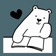 สติ๊กเกอร์ไลน์ หมีมีแฟน