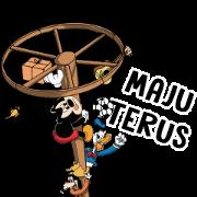 สติ๊กเกอร์ไลน์ Mickey and Friends Love Indonesia