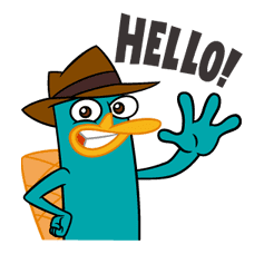 Perry/Agent P: Unique Faces sticker #28360
