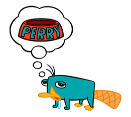 Perry/Agent P: Unique Faces sticker #28394