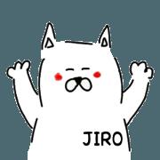 สติ๊กเกอร์ไลน์ JIRO the dog
