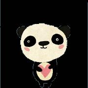 สติ๊กเกอร์ไลน์ Paper Panda
