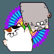 สติ๊กเกอร์ไลน์ Miso&Sabao