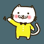 สติ๊กเกอร์ไลน์ Cat's nya-go