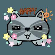 สติ๊กเกอร์ไลน์ แมว(เหมียว)คูนกวน
