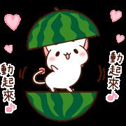 สติ๊กเกอร์ไลน์ The Cat Which Tells Love