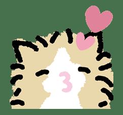 Kutsushita Nyanko: Lots of Love sticker #28745