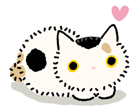 Kutsushita Nyanko: Lots of Love sticker #28768