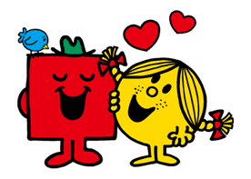 MR.MEN LITTLE MISS sticker #28788