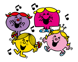 MR.MEN LITTLE MISS sticker #28790