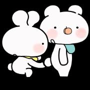 สติ๊กเกอร์ไลน์ Everyday Love Baby Usakkuma