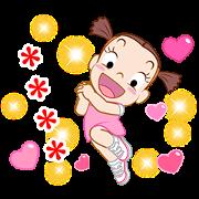 สติ๊กเกอร์ไลน์ Jumbooka 12 Happy Custom Sticker