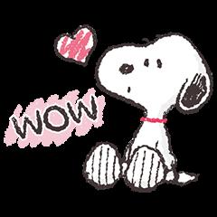 Snoopy สติกเกอร์เพื่อนรัก