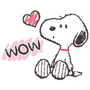 สติ๊กเกอร์ไลน์ Snoopy สติกเกอร์เพื่อนรัก