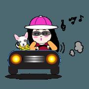 สติ๊กเกอร์ไลน์ Nongjook & Jeejy Part 4
