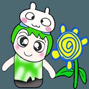 สติ๊กเกอร์ไลน์ Mr. Kayama and rabbit..^_^