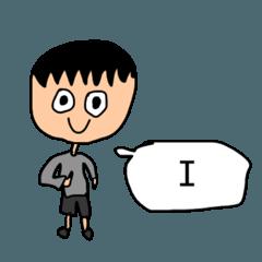スタンプ単語