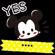 สติ๊กเกอร์ไลน์ Disney Tsum Tsum สติกเกอร์เติมคำ