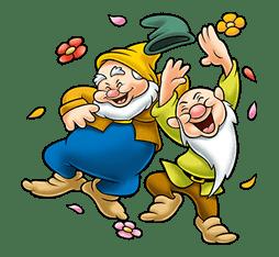Snow White and the Seven Dwarfs sticker #29226