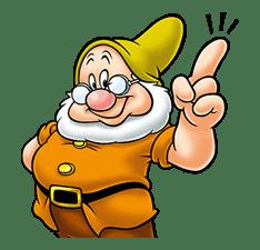 Snow White and the Seven Dwarfs sticker #29243