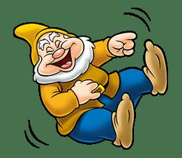 Snow White and the Seven Dwarfs sticker #29244