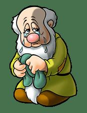 Snow White and the Seven Dwarfs sticker #29256