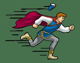 Snow White and the Seven Dwarfs sticker #29261