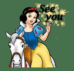 Snow White and the Seven Dwarfs sticker #29263