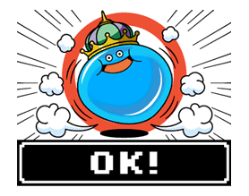 DRAGON QUEST Monster Stickers 2 sticker #29306