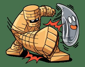 DRAGON QUEST Monster Stickers 2 sticker #29334