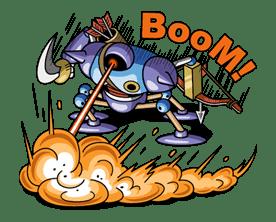 DRAGON QUEST Monster Stickers 2 sticker #29336