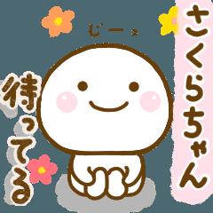 สติ๊กเกอร์ไลน์ sakurachann sticker