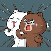 สติ๊กเกอร์ไลน์ Raikuma & Pusaki