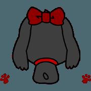 สติ๊กเกอร์ไลน์ I am Midge.animation sticker.