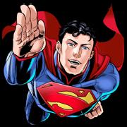 สติ๊กเกอร์ไลน์ Superman