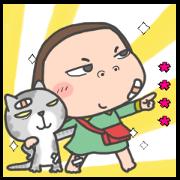 สติ๊กเกอร์ไลน์ Cha Bao Mei Custom Stickers