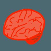 สติ๊กเกอร์ไลน์ biologism-brain