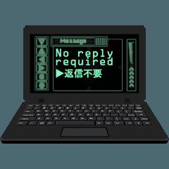 PCの翻訳アプリケーション (A)