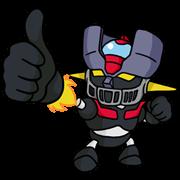 สติ๊กเกอร์ไลน์ มาซินก้า Z หุ่นกายสิทธิ์