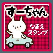 สติ๊กเกอร์ไลน์ (su-chan) attached to the name