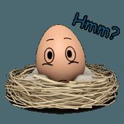 สติ๊กเกอร์ไลน์ Eggs are people too!