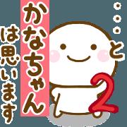 สติ๊กเกอร์ไลน์ kanachann sticker 2