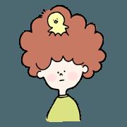 สติ๊กเกอร์ไลน์ Bob&Bird
