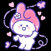 สติ๊กเกอร์ไลน์ Sanrio Characters × BaoBaoNeverTell