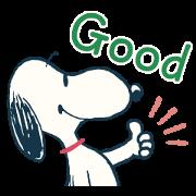 สติ๊กเกอร์ไลน์ Snoopy ยุค 60's