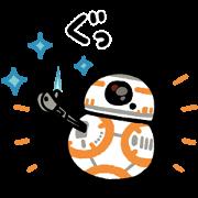 สติ๊กเกอร์ไลน์ Star Wars Stickers by Kanahei